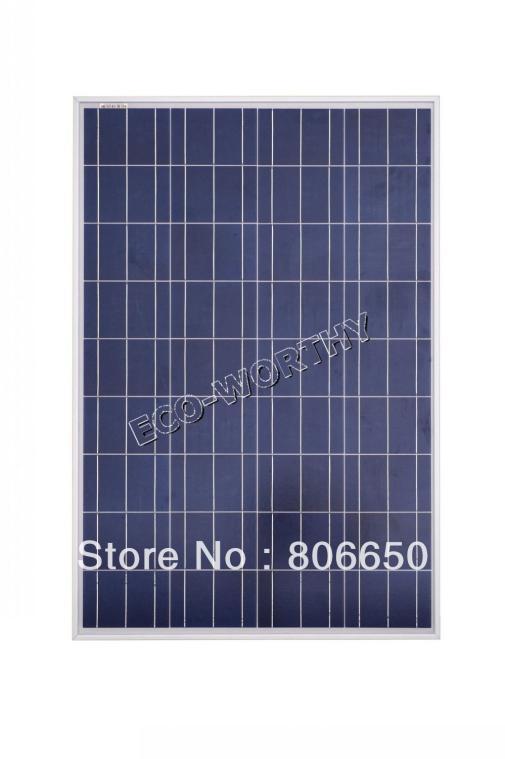 100w Solar Panel For Led Street Light Solar Light Rv