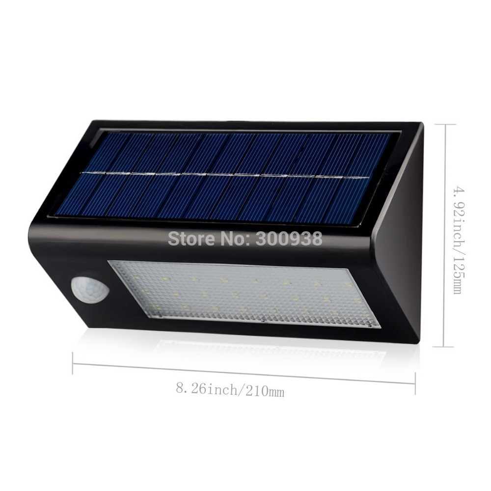12 Led Solar Lights Outdoor ...  sc 1 st  Growth Network & Newest !32 LEDs Solar Power Motion Sensor Light Wall Lamp Outdoor ...