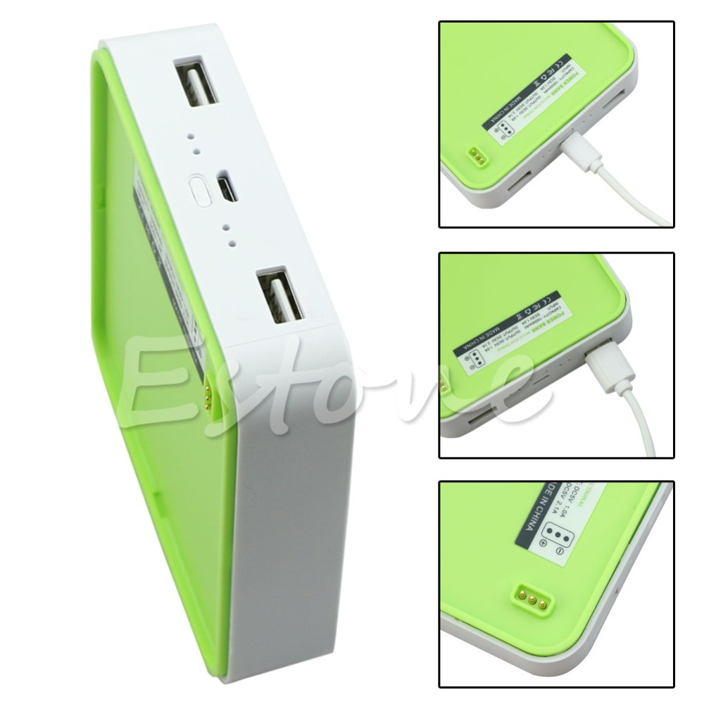 Free Shipping 10000mah Power Bank Solar Powered Panel Qi Wireless Modul 1 Output 1a 5v Charging Module Led Fan Set Growth Network