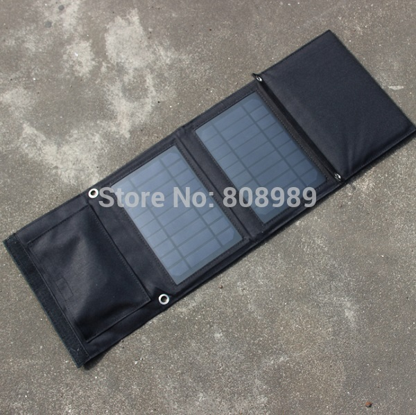 New 18v 5v 16w Portable Folding Solar Charger For Iphone